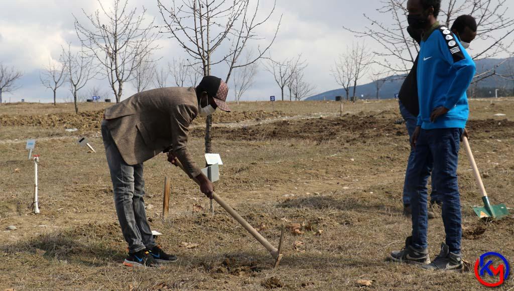 Karabük Üniversitesinde Kurulan Unika Moral Hobi Bahçesinde Hedef ORGANİK TARIM