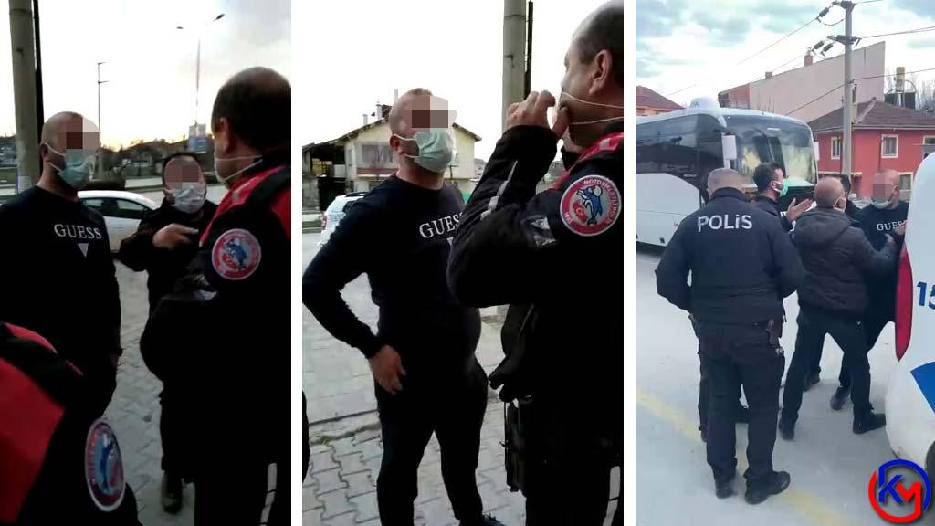Bunu da Gördük; Alkollü Doktor Polise Saldırdı