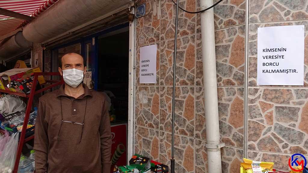 Karabük 'te Gizemli Bir Hayırsever; 6 Bakkalın Veresiye Defterini Kapattı