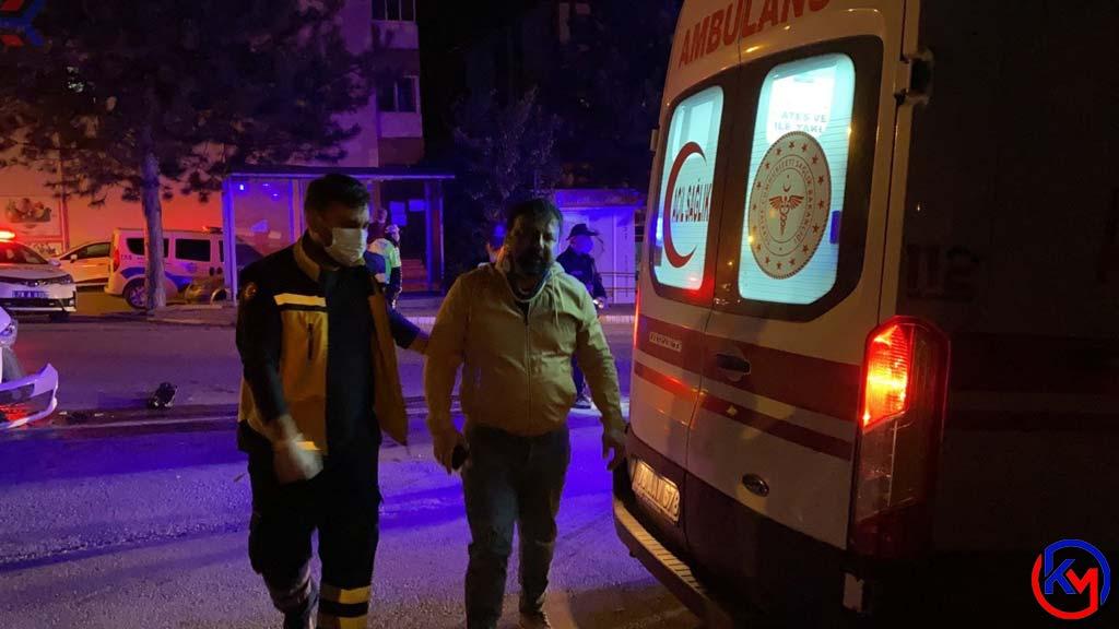 Safranbolu 'da İki Aracın Çarpışmasıyla Meydana Gelen Kazada 4 Kişi Yaralandı